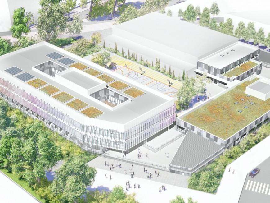 La Métropole de Lyon prévoit un nouveau collège à Gerland