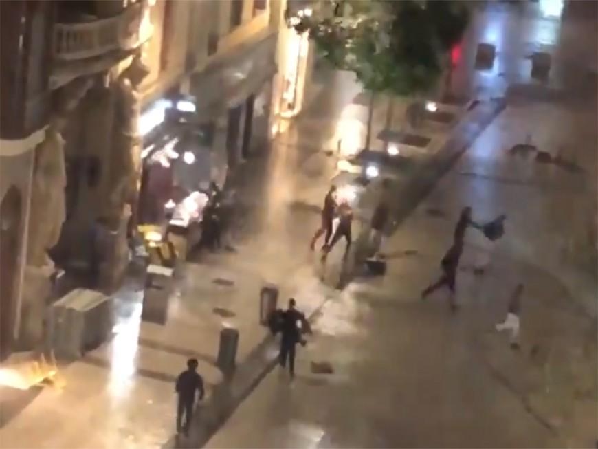 Lyon : ils profitent de l'orage pour piller une sandwicherie de la Presqu'île - VIDEO
