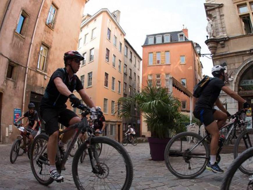 Lyon : reconnaissance des parcours de la Lyon Free Bike