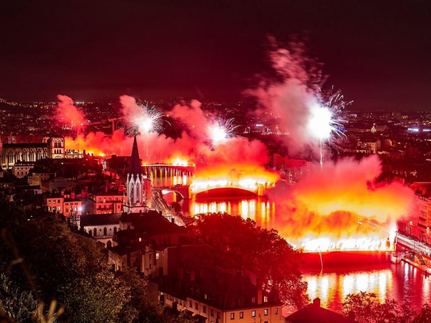 Avant le premier match de Rudi Garcia, les supporters de l'OL mettent le feu dans Lyon