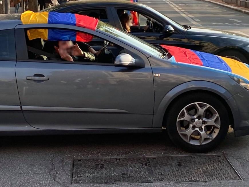 Au sud de Lyon : des affrontements avec des Turcs lors d'une manifestation pro-Arménie sur l'A7