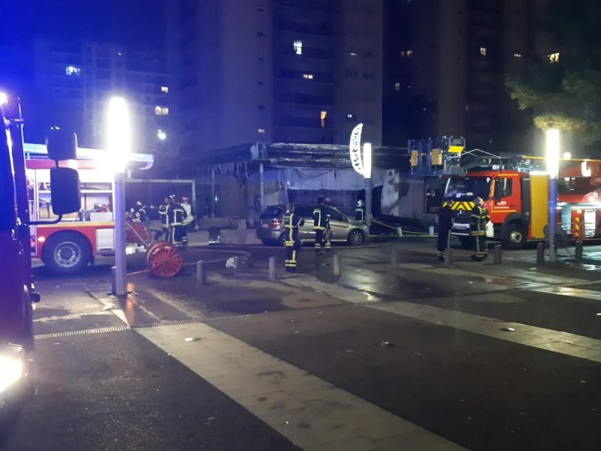 Près de Lyon : 24h après le déplacement de Laurent Wauquiez et Jérémie Bréaud, des commerces incendiés au Terraillon