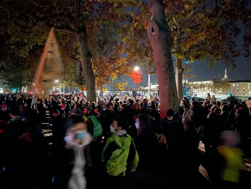 Lyon : nouvelle manifestation contre la loi Sécurité globale