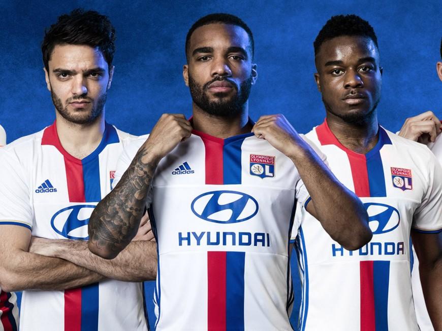 L'Olympique Lyonnais dévoile ses maillots pour la saison 2016-2017