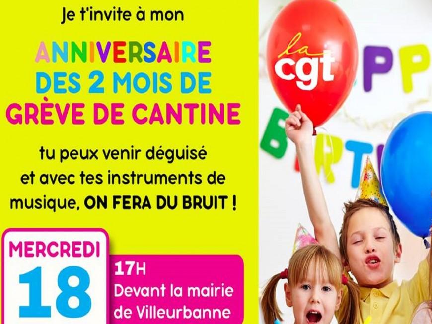 Villeurbanne : les parents d'élèves manifestent ce mercredi après deux mois de grève des cantines