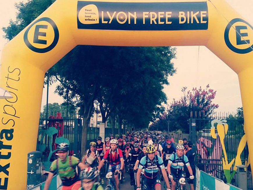 7500 cyclistes au Lyon Free Bike ce dimanche