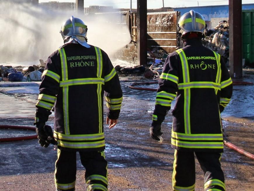 Rillieux : un incendie déclaré dans un immeuble du Boulevard De Lattre De Tassigny