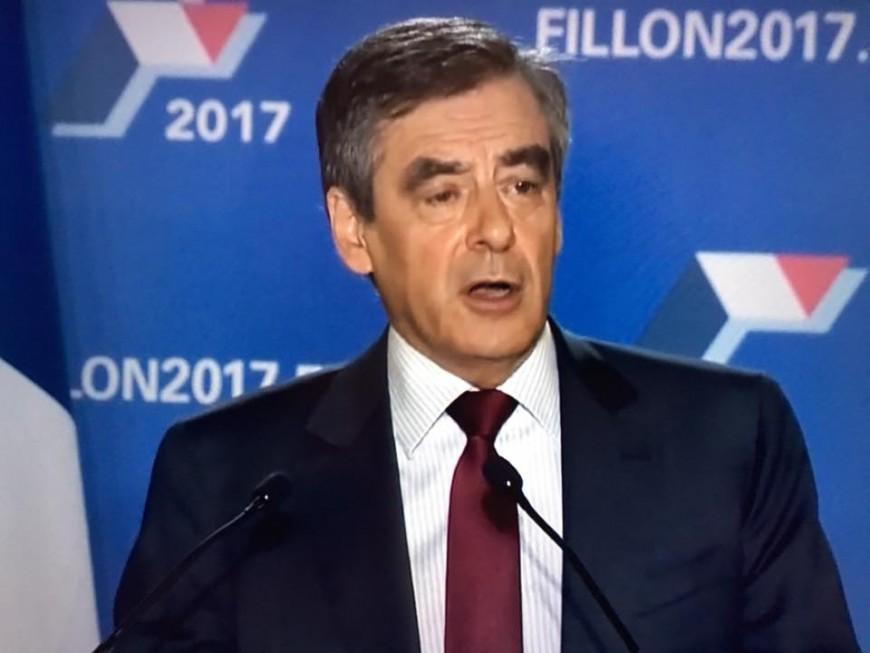"""A Lyon, François Fillon était venu """"amplifier sa bataille pour la France"""""""