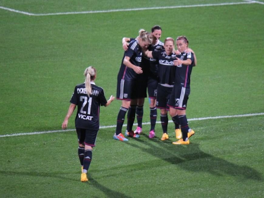 Victoire de l'OL Féminin face au FC Fleury (5-0)