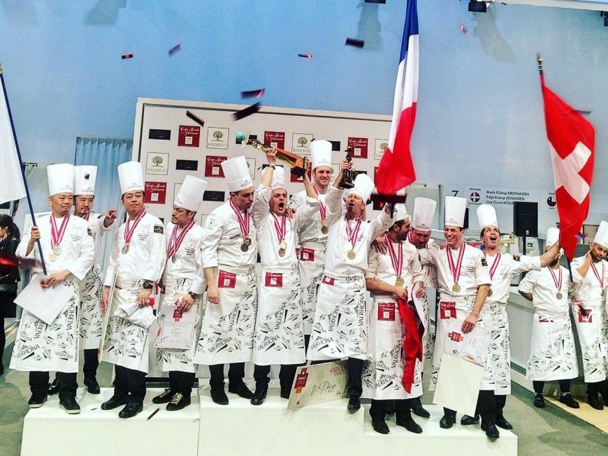 SIRHA : la France remporte la coupe du monde de la pâtisserie !