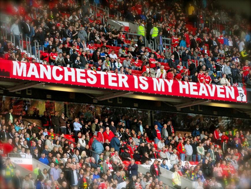 """OL: pour les supporters de Manchester United, Saint-Etienne est """"une petite ville dans Lyon"""""""