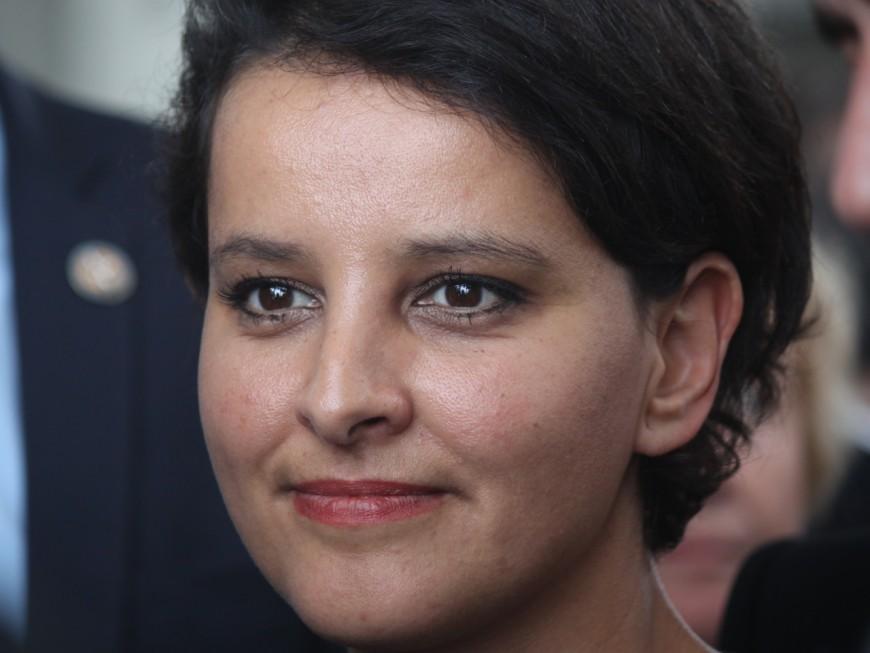 Najat Vallaud-Belkacem au pot de rentrée du PS de Villeurbanne