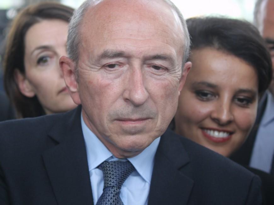 """Najat Vallaud-Belkacem se plaint d'un Gérard Collomb """"odieux"""" avec elle"""