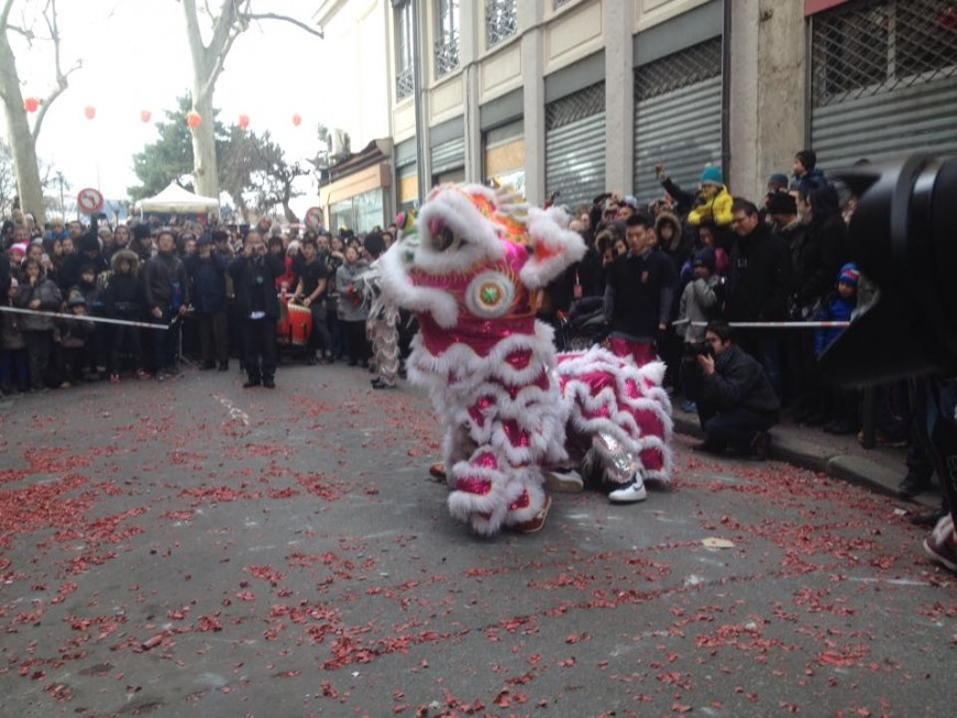 Lyon : 5000 Lyonnais ont assisté au Nouvel An Chinois à la Guillotière