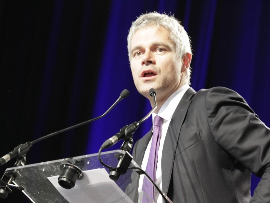 Régionales : Laurent Wauquiez confirme son virage sécuritaire