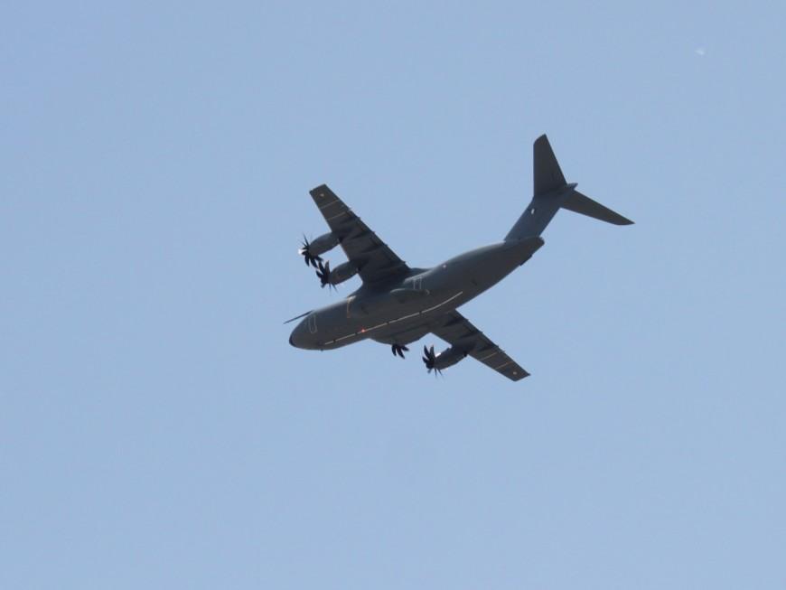 """Lutte contre Daesh : l'A400 M """"Métropole de Lyon"""" déployé en Jordanie"""