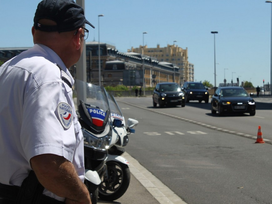 Lyon : la moto du rodéo était cachée dans la chambre