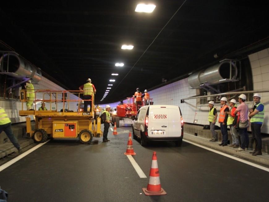 Lyon : dernière semaine de travaux pour le tunnel de Fourvière !