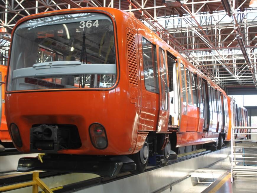 Lyon : la rame double testée sur la ligne D du métro