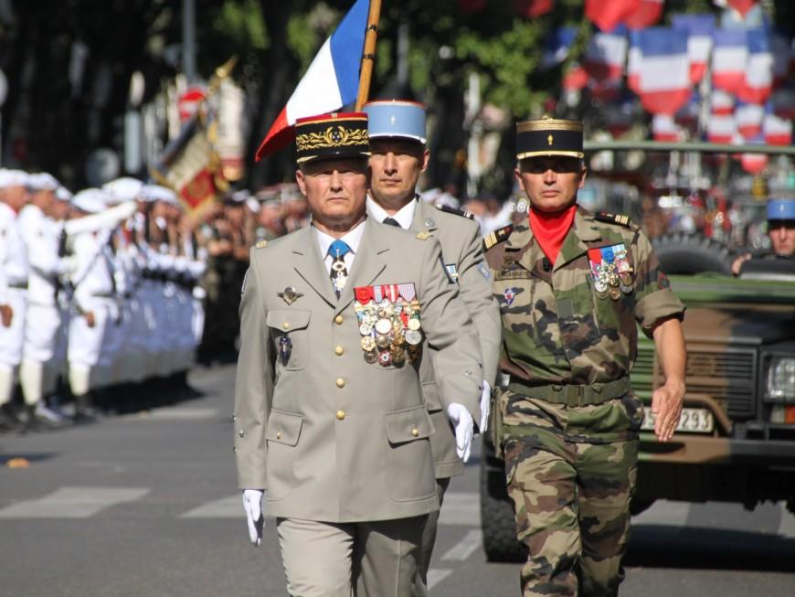 Le gouverneur militaire de Lyon tire sa révérence à l'armée ce jeudi