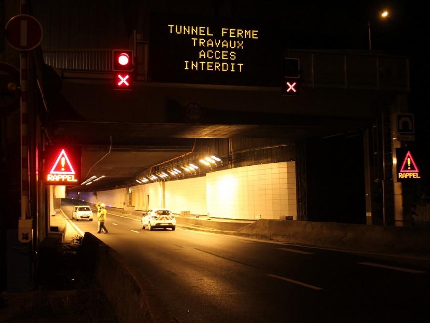Le tunnel sous Fourvière à nouveau fermé dans les deux sens cette semaine la nuit