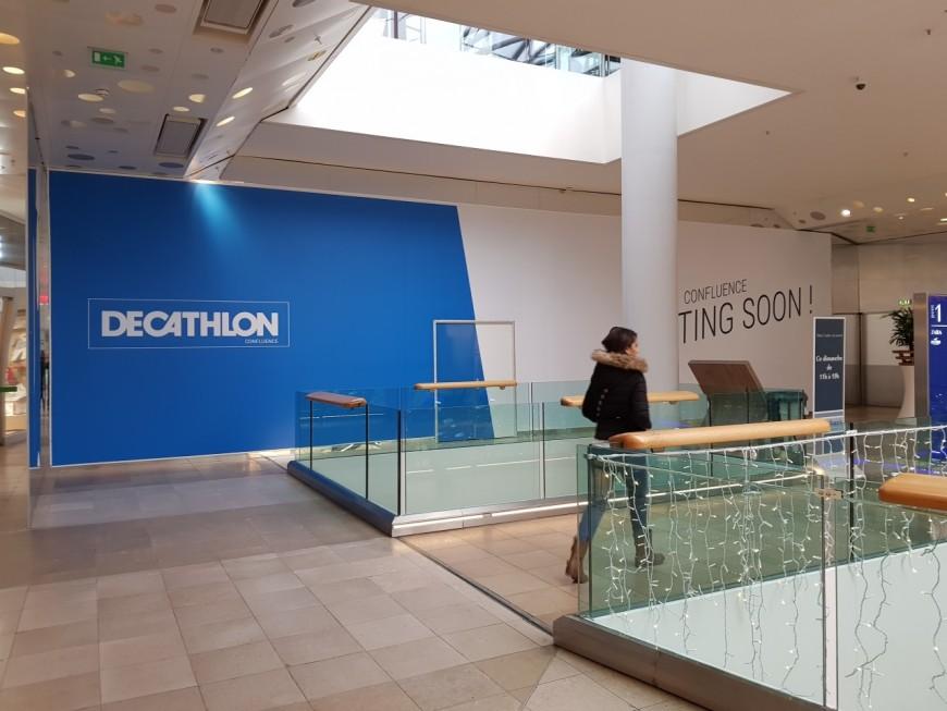 Le Decathlon Confluence ouvrira l'été prochain