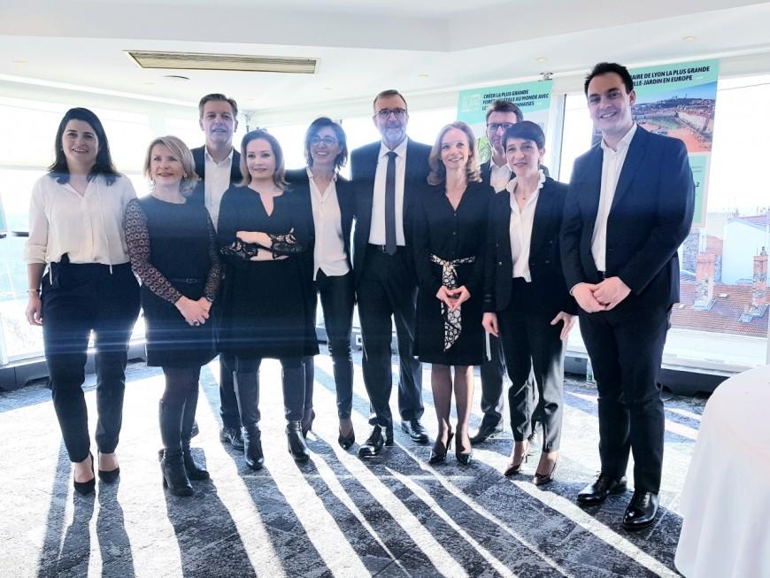 Municipales à Lyon : Etienne Blanc met en lumière son programme déjà fourni
