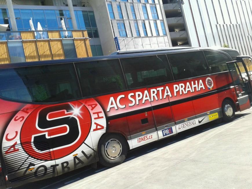 Le Sparta Prague a élu domicile à la Confluence
