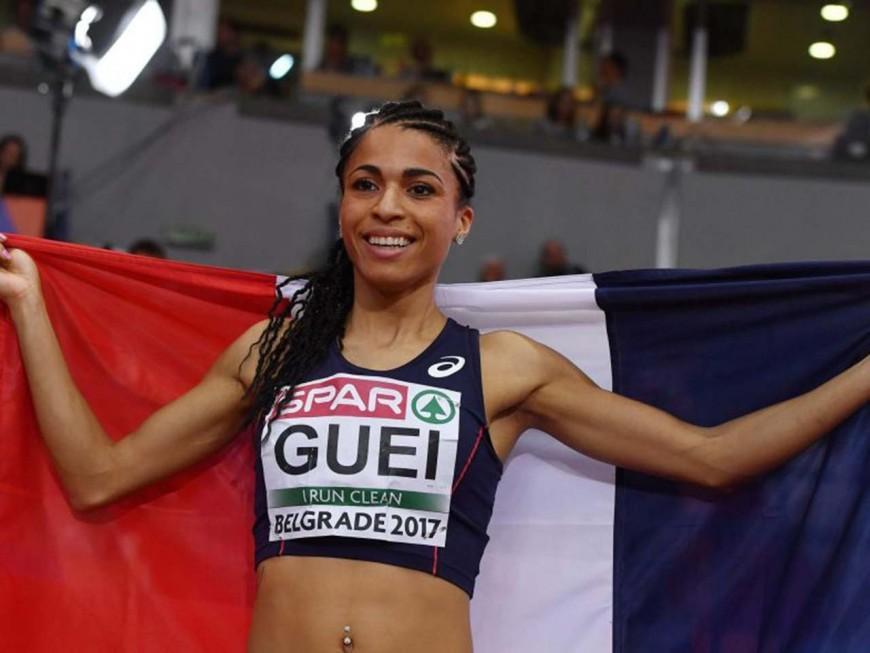 Floria Gueï décroche l'or aux championnats d'Europe en salle