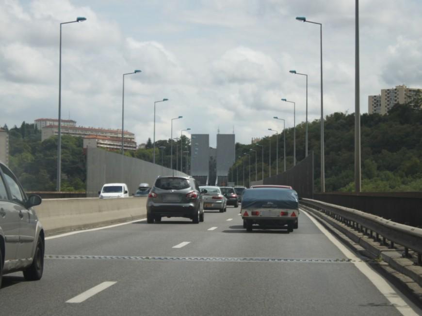 Lyon : les automobilistes ont perdu 36 heures dans les embouteillages en 2015