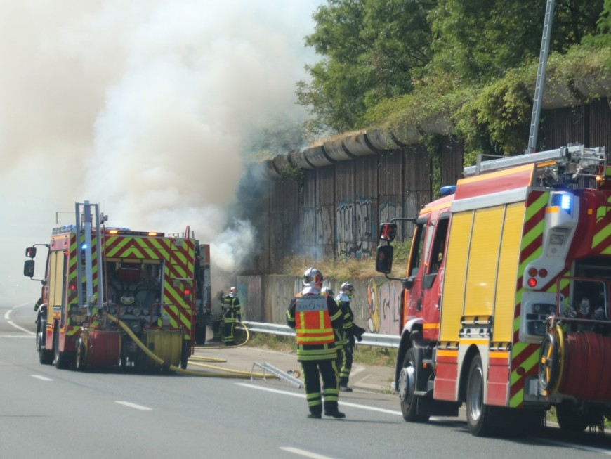Solaize : deux blessés lors d'un accident sur l'A7