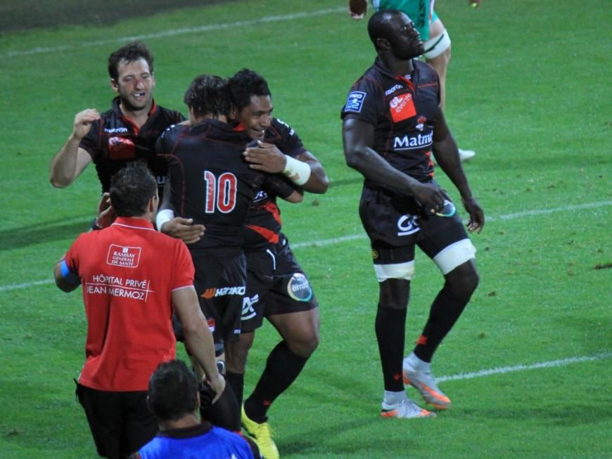 En leader, le LOU s'impose face au Stade Montois (40-15)