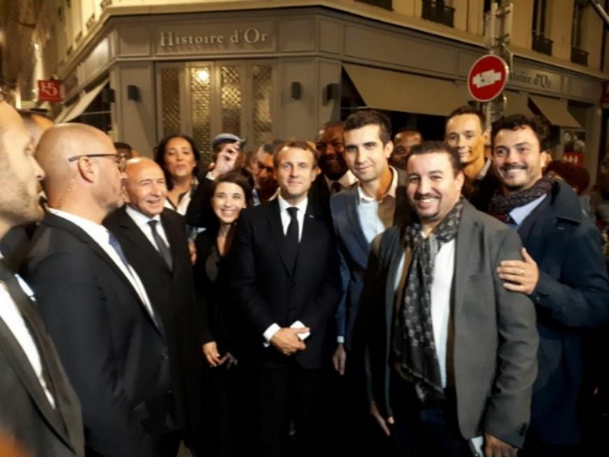 Gérard Collomb a-t-il exclu David Kimelfeld de la déambulation à Lyon avec Emmanuel Macron ?
