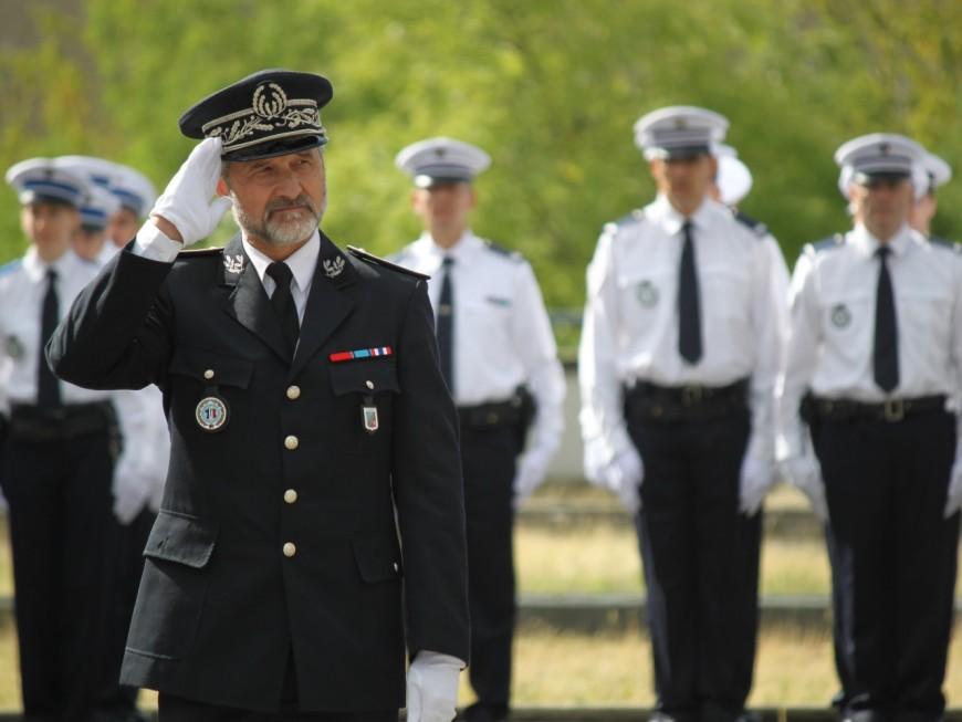Lucien Pourailly, nouveau patron de la police du Rhône