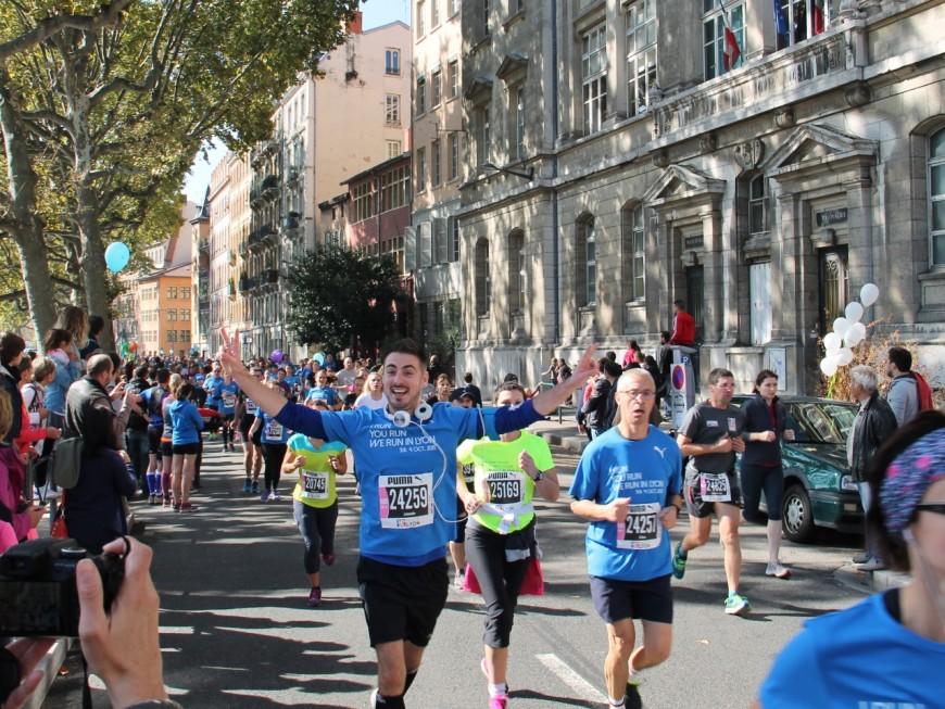 33 000 coureurs dans les rues de la capitale des Gaules pour le Run In Lyon