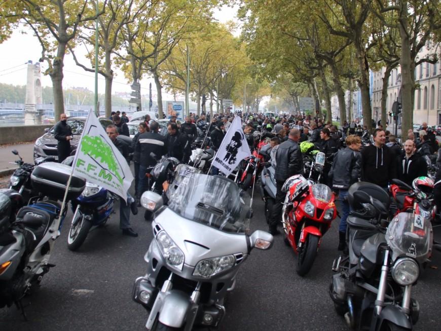 Lyon : les motards en colère à fond contre les 70 km/h sur le périphérique