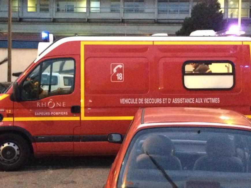 Rhône : deux jeunes blessés dans un grave accident de la route