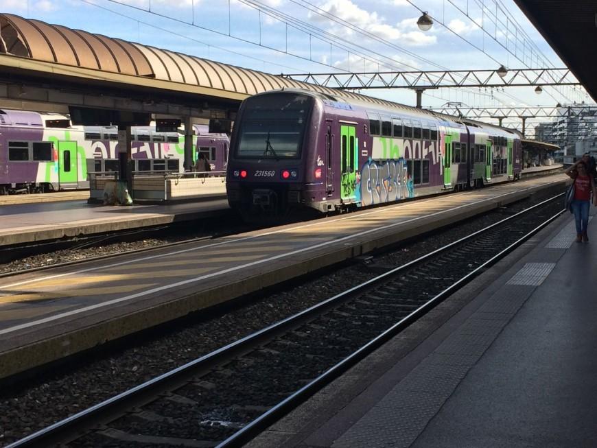 """Un """"RER Sud"""" bientôt sur les rails à destination de Lyon ?"""
