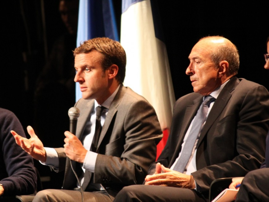 Le chef de cabinet de Gérard Collomb rejoint la campagne d'Emmanuel Macron
