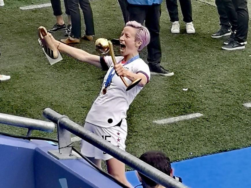 Ballon d'Or féminin : Megan Rapinoe sacrée, Lucy Bronze (OL) sur le podium