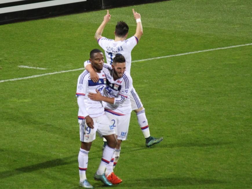 L'OL provisoirement sur le podium après sa victoire à Troyes (0-1) - VIDEO