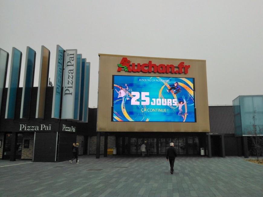 L'homme filmait les fesses des clientes et des employées d'Auchan Saint-Priest