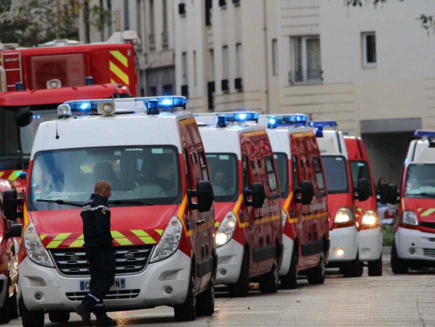 Lyon 1er : un blessé léger après l'effondrement du 5e étage d'un immeuble