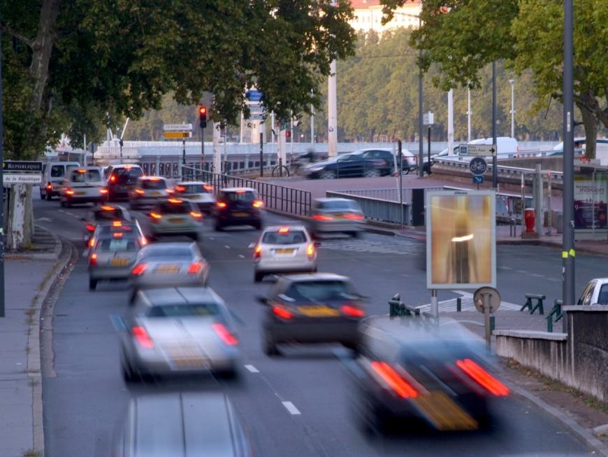 Lyon : la circulation différenciée de nouveau mise en place
