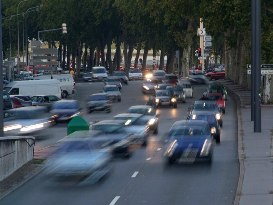 Toujours plus de trafic et de bouchons à Lyon