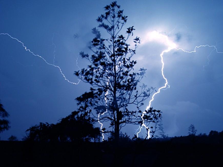 Orages violents : fin de l'alerte orages dans la région