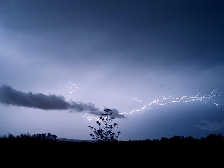 Nouvelle alerte aux orages en Rhône-Alpes