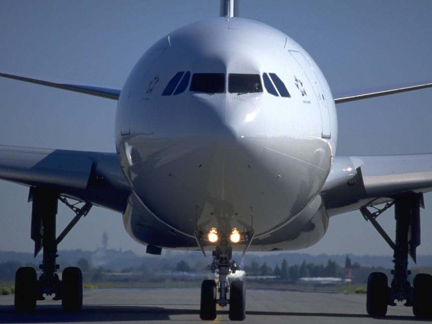"""""""Lyon"""", le nouvel A350 d'Air France"""