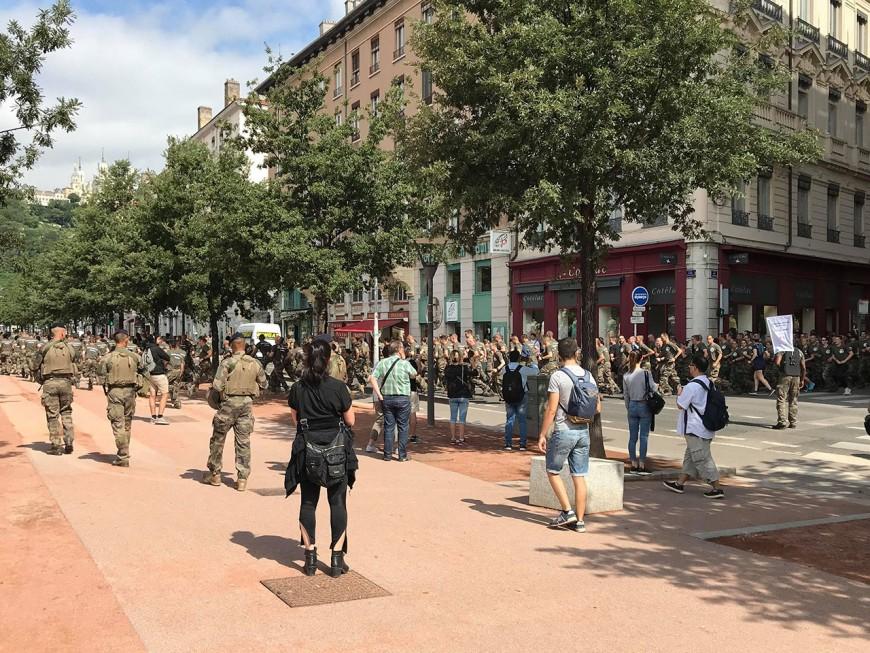 Lyon : 1200 soldats ont couru pour leurs blessés