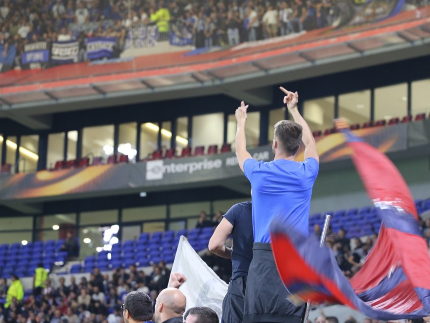 Violences OL – CSKA: un lanceur de projectile interpellé